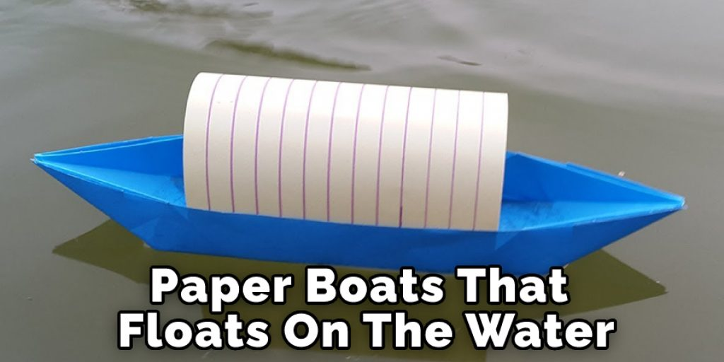 Paper Boats That Floats On The Water