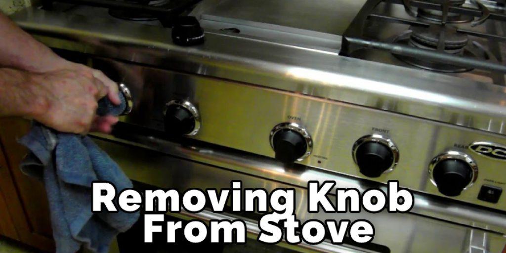 Rmoving Knob From Stove
