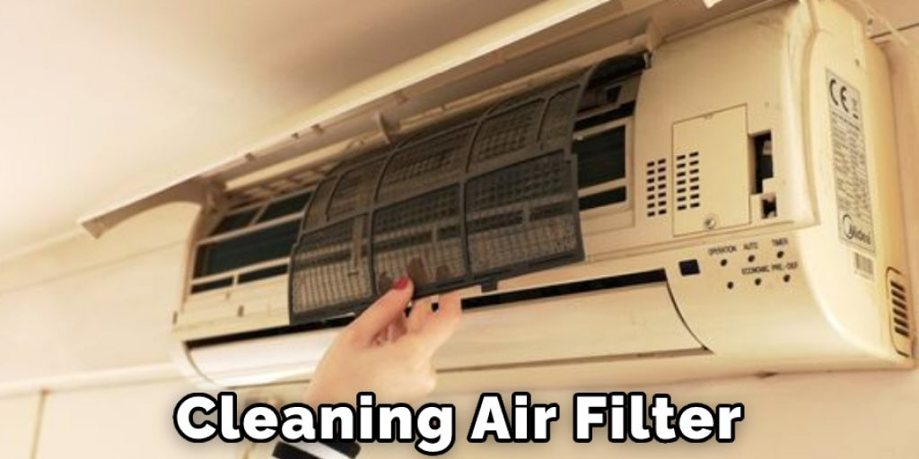Cleaning The Air Filter