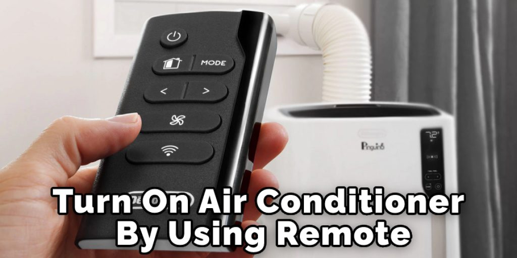 Turn On Air Conditioner By Using Ac