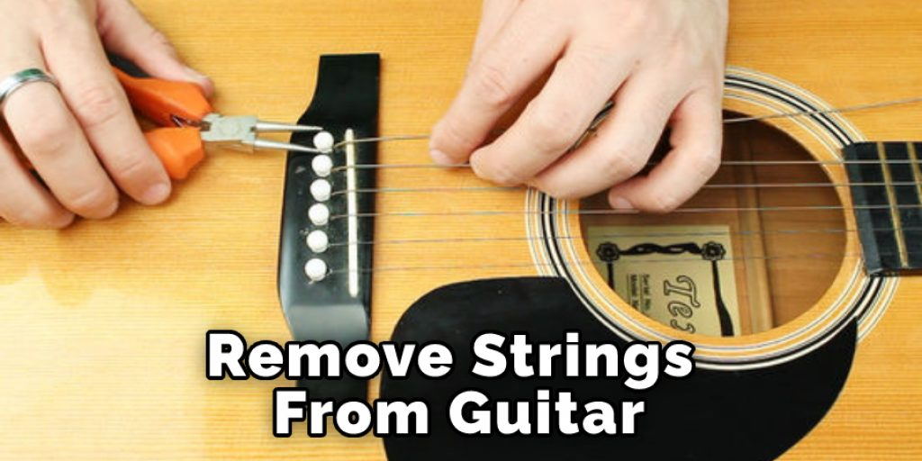 Remove Strings From Guitar