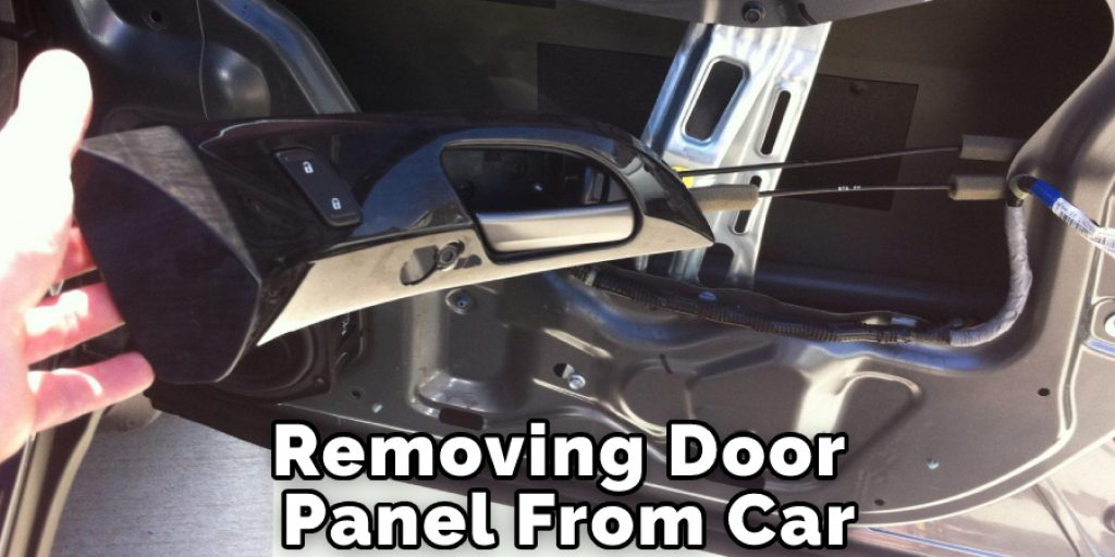 Removing Door Panel From Car