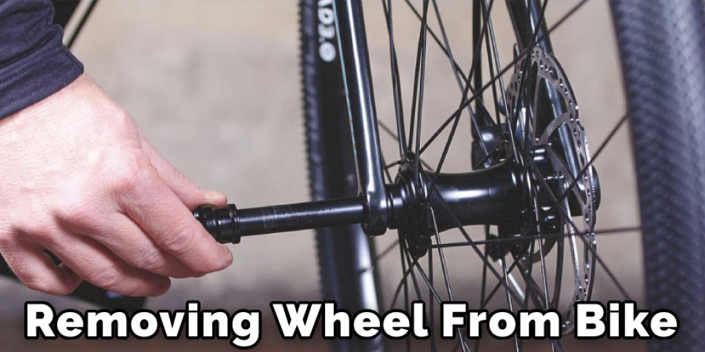 Removing Wheel From Bike