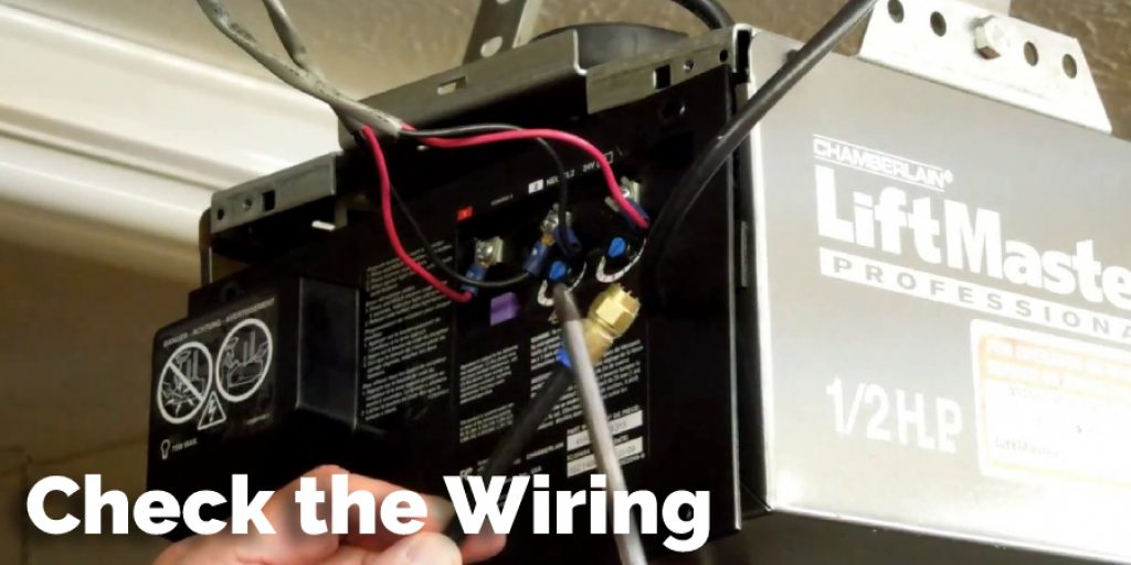 Check the Wiring