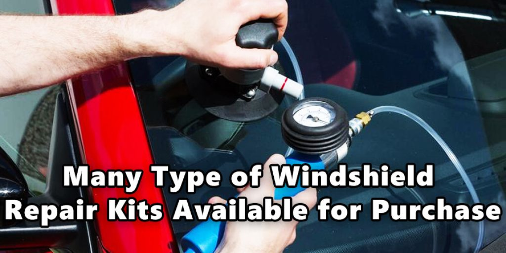 Many type of Windshield Repair Kits Available for Purchase