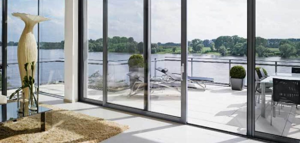 How to Remove Fixed Panel of Sliding Glass Door