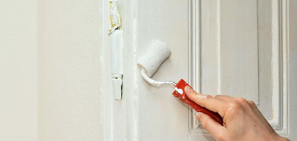 How to Paint Door Trim Molding