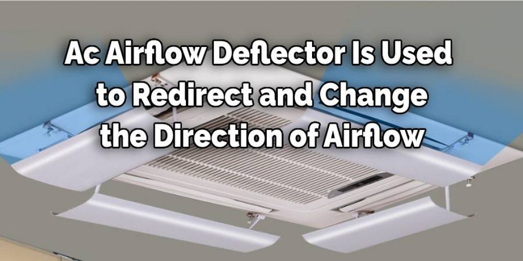 Ac Airflow Deflector Is Used  to Redirect and Change  the Direction of Airflow