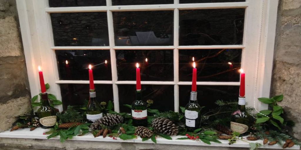 How to Keep Window Candles From Falling