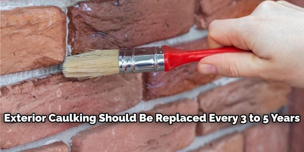 Removing exterior caulk considering few things