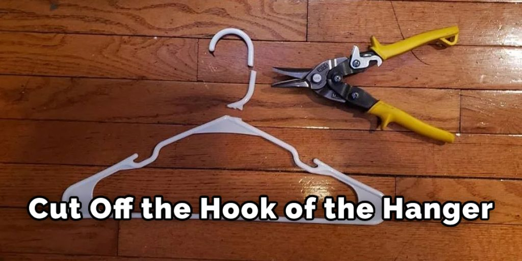 Cut Off the Hook of the Hanger