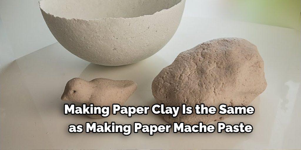 Alternative of Paper Mache Paper clay