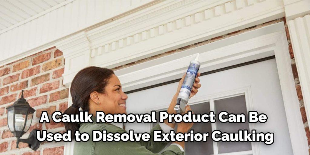 Using Caulk Remover Solution