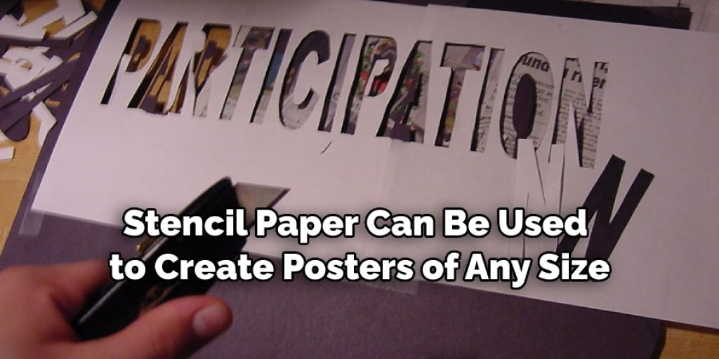 Creating Stencil Posters