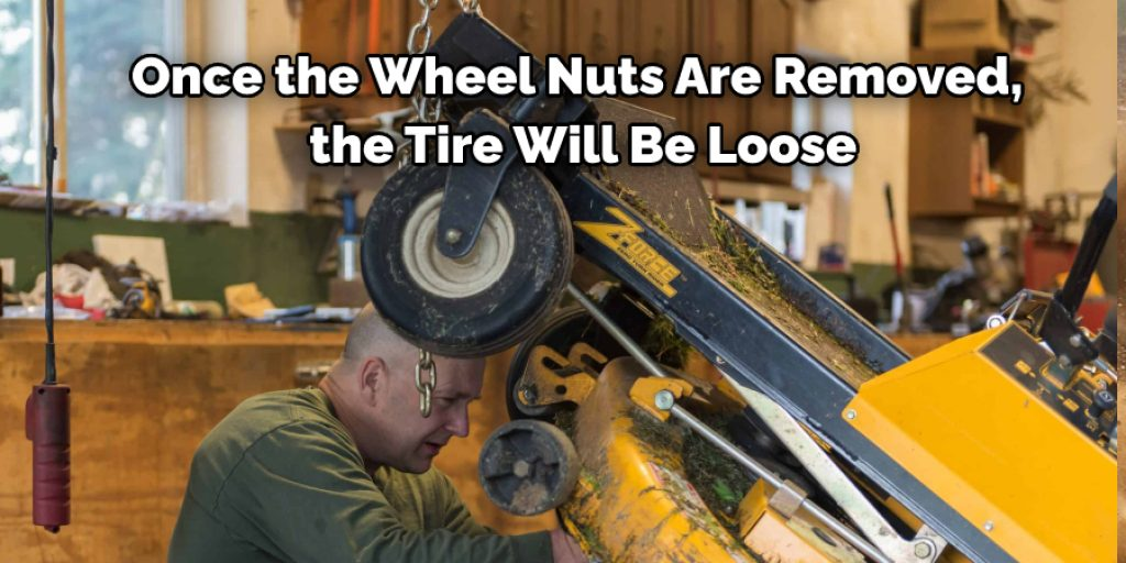 Directions How to Reseat a Lawn Mower Tire