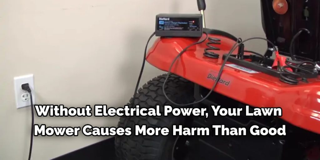 Five Reasons Why Should Wire a Charging System on a Lawn Mower