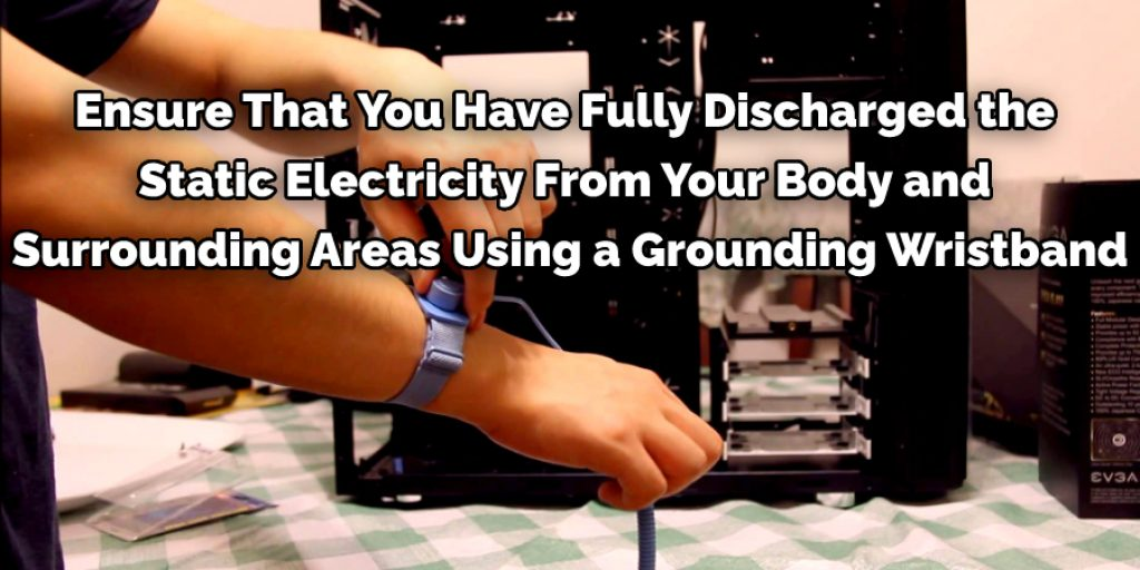 Using a Grounding Wristband