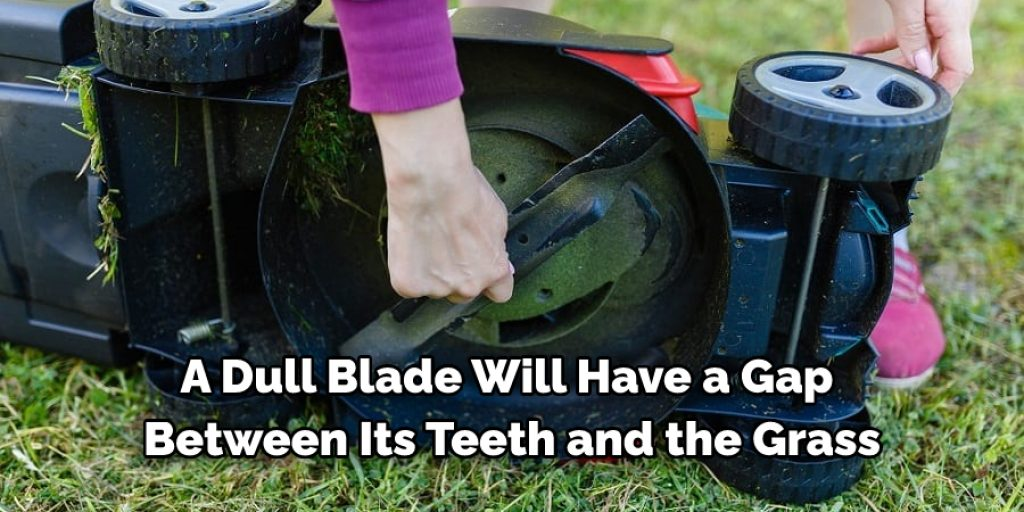How Do I Know if My Lawnmower Blade Is Sharp