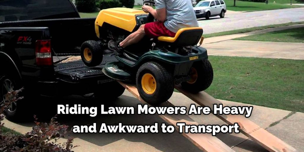 How Do You Load a Riding Lawn Mower on a Pickup Truck