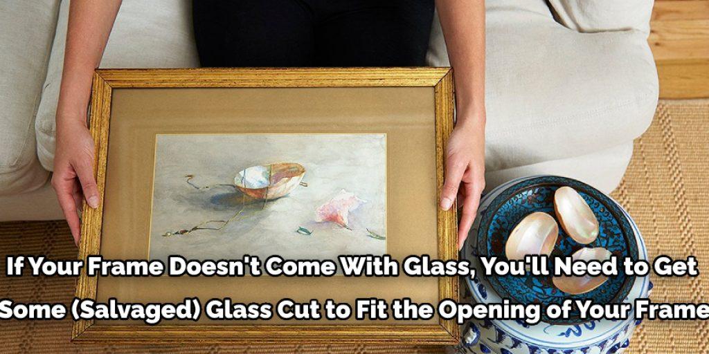 Framing the Watercolor Paper