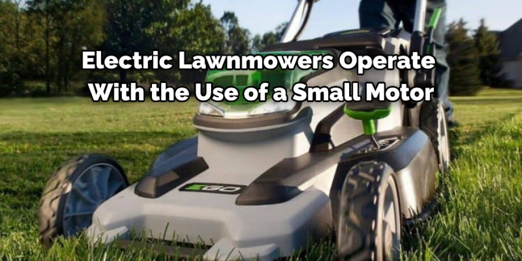 How Electric Lawn Mower Works?