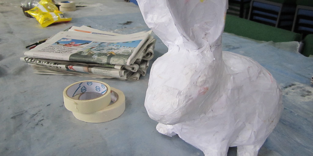 How to Make Paper Mache Without Flour