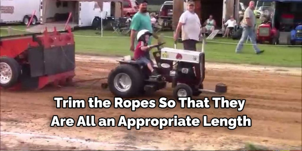 Steps to Make a Pulling Lawn Mower