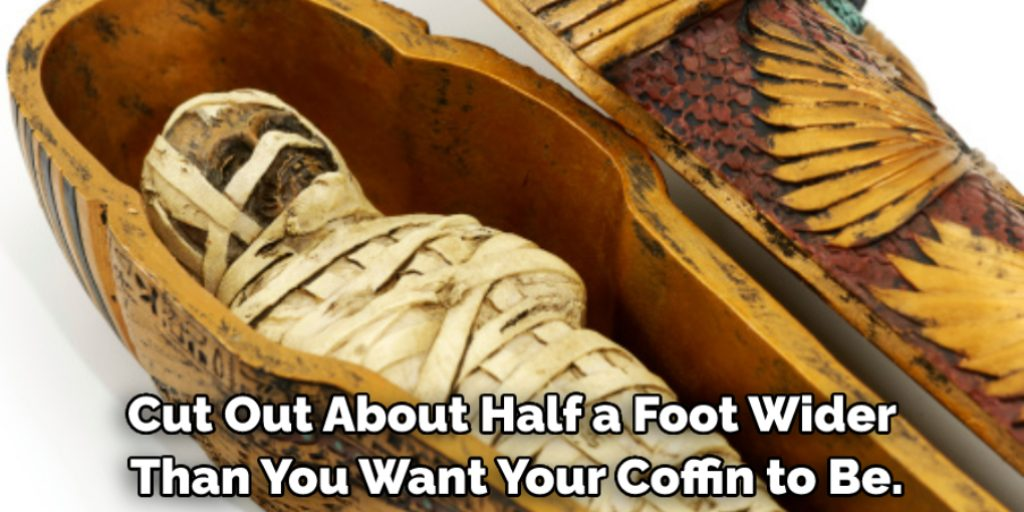 Make a Mummy Coffin Out of Cardboard