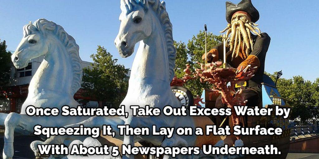 Materials Needed for Large Papier Mache Sculptures