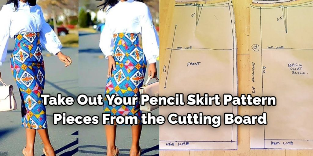 Stepwise Guide on How to Make a High Waist Pencil Skirt: