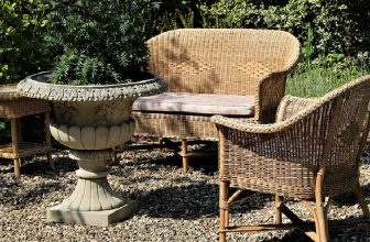 How to Remove Paint From Rattan Furniture