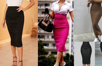 How to Make a High Waist Pencil Skirt