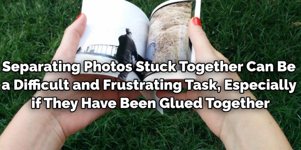 Photos Glued Together
