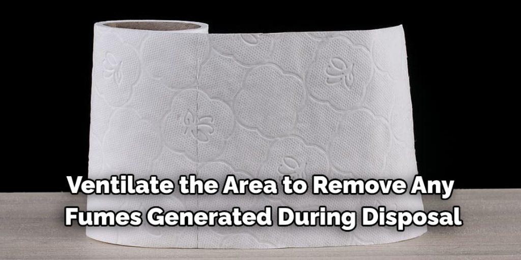 Precautions While Disposing Motor Oil Soaked Paper Towels