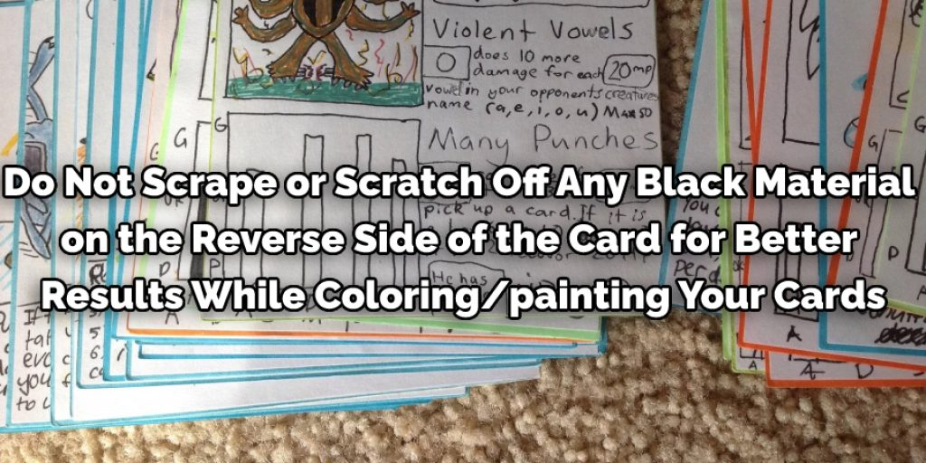 Painting the Cards