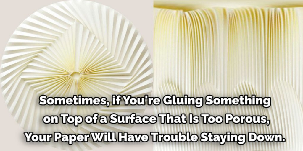 Reasons Why Paper Curling When Gluing