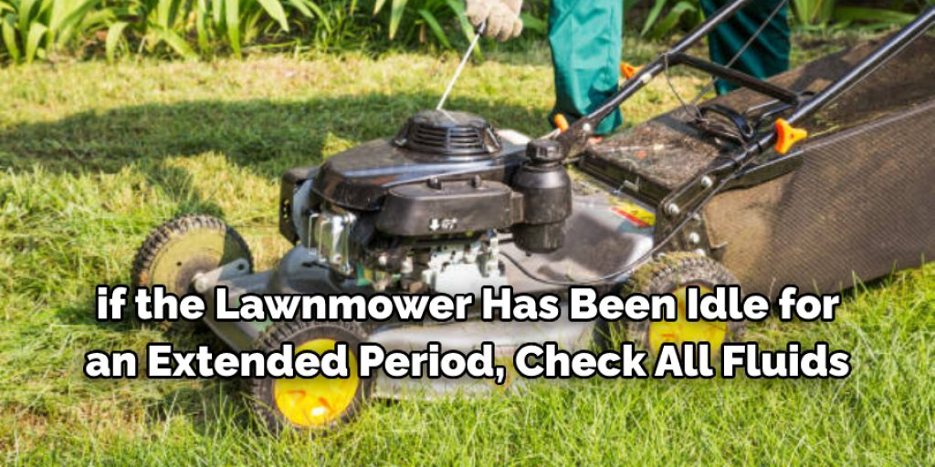 Some Tips and Suggestions to start lawnmower