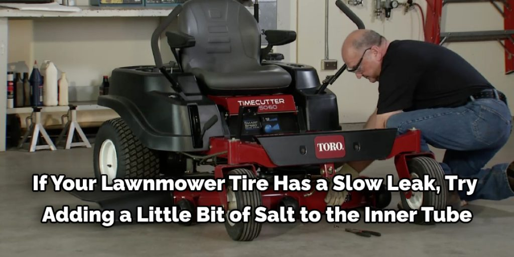 Some Tips and Suggestions On How to Reseat a Lawn Mower Tire