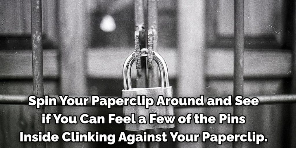 Spin Your Paperclip Around and See