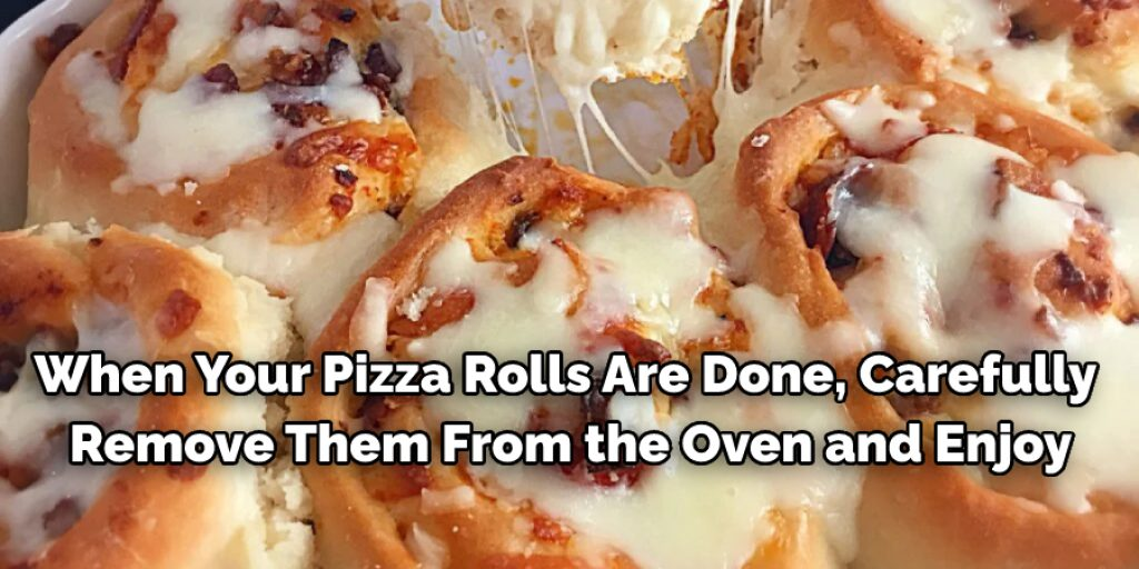 Steps to Follow to Cook Pizza Rolls Without Them Exploding