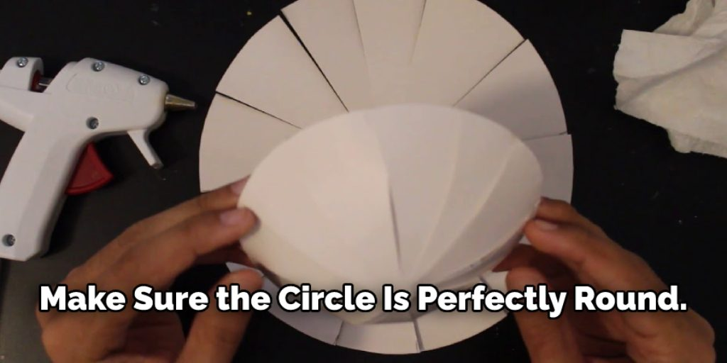 Stepwise Guide on How to Make a Half Sphere Out of Paper