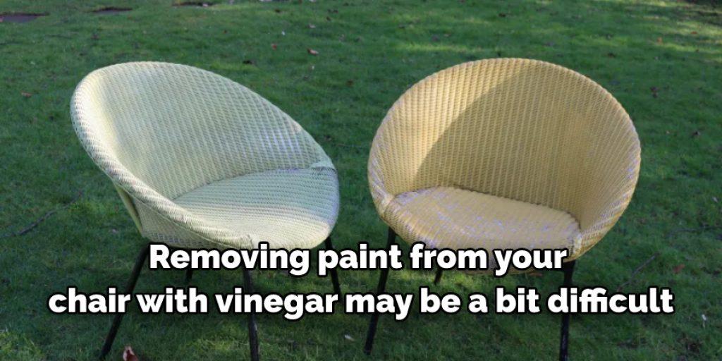 Using Vinegar to remove paint