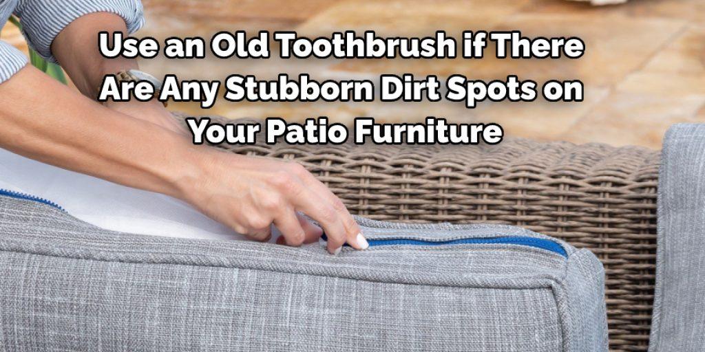 Tips Regarding Cleaning Outdoor Furniture