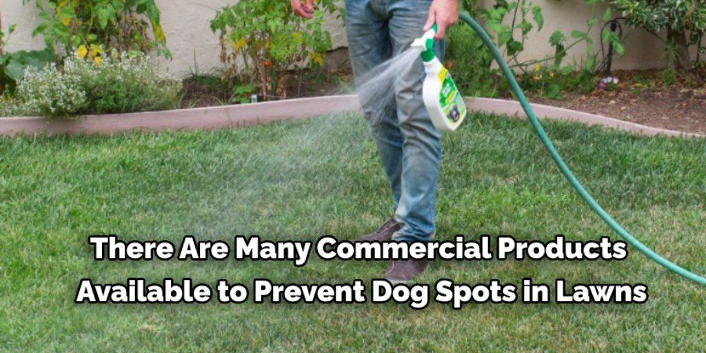 Use Dog Spot Eliminators to fix dog spots in lawn