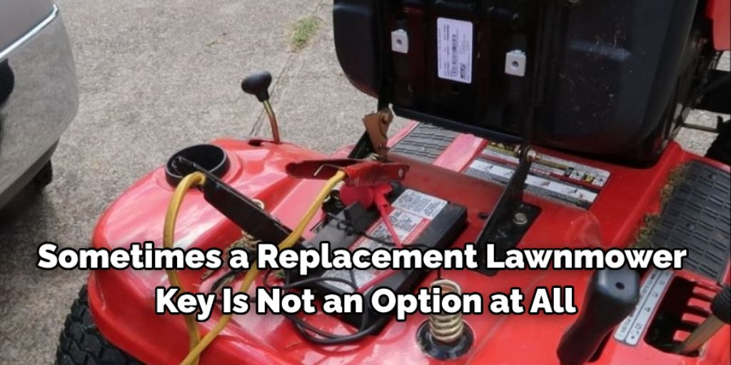 Use Pliers to Get a Replacement Lawn Mower Key