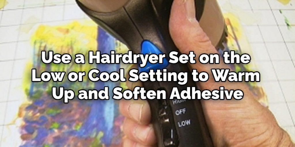 Use a Hairdryer Set