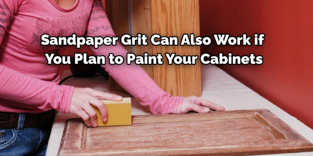 What Sandpaper Should I Use on Cabinets