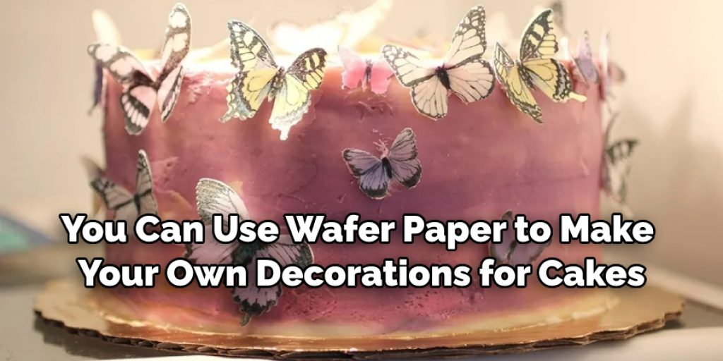 Decorating with wafer paper