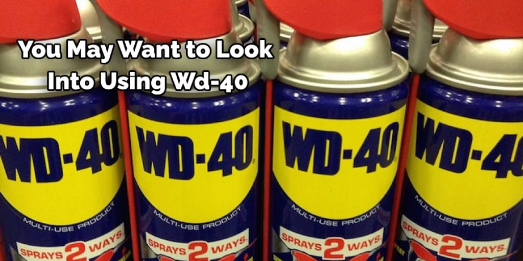 Will Wd-40 Keep Grass From Sticking to Mower Deck
