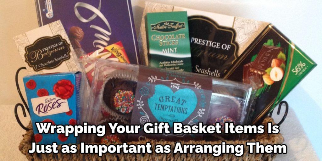 Wrap Gift Basket Items
